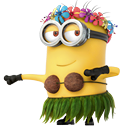 minion, Dancing DarkOliveGreen icon