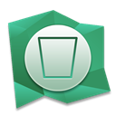 recycle, Bin, Empty MediumSeaGreen icon
