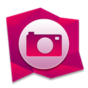 Pictures MediumVioletRed icon