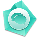 Chat MediumTurquoise icon