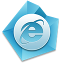 internet, Explorer Black icon