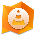 Vlc, player, media DarkOrange icon