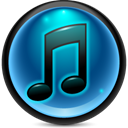 itunes Teal icon