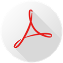Cc, 1acrobat Gainsboro icon