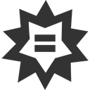 wolfram, Alpha DarkSlateGray icon