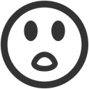 surprised DarkSlateGray icon