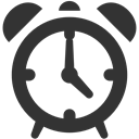 Clock, Alarm DarkSlateGray icon