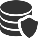 Data, Protection DarkSlateGray icon