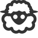 Sheep DarkSlateGray icon