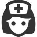 Nurse DarkSlateGray icon