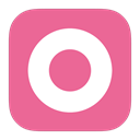 Orkut, Flurry, google PaleVioletRed icon