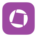 Flurry, google, Picasa DarkOrchid icon