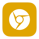 google, Metroui, Canary Orange icon
