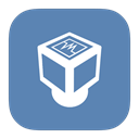 Virtualbox, Metroui SteelBlue icon