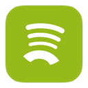 Spotify, Metroui YellowGreen icon