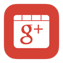 google, Flurry Crimson icon