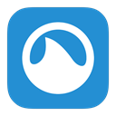 Metroui, Grooveshark DodgerBlue icon