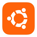 Ubuntu, Metroui OrangeRed icon
