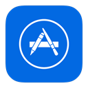 Metroui, mac, store, App DodgerBlue icon