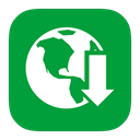 manager, internet, Metroui, download ForestGreen icon
