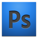 adobe, cs4, photoshop RoyalBlue icon