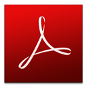 cs3, Acrobat, adobe Maroon icon