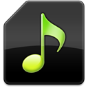 Aoa, extractor, Audio DarkSlateGray icon