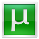 Utorrent, square ForestGreen icon
