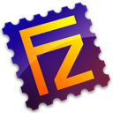 Server, Filezilla Black icon
