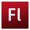 Flash, cs3, adobe Maroon icon