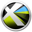 8, quarkxpress Black icon