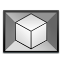 autodesk, max, 3ds Black icon