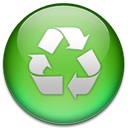 Universal, Downloader, share YellowGreen icon