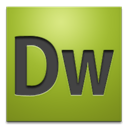 cs4, adobe, dreamweaver YellowGreen icon