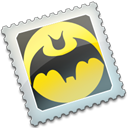 the, bat Black icon