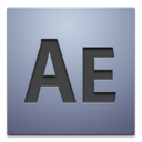 After, effects, adobe, cs4 DarkGray icon