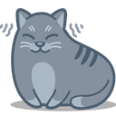 Cat, purr LightSlateGray icon