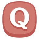 Quora IndianRed icon