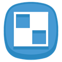 Delicious CornflowerBlue icon