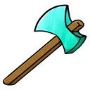 diamond, Axe Black icon