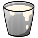 Bucket, milk DarkGray icon