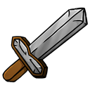 iron, sword Black icon