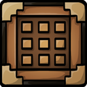 Crafting, table Sienna icon