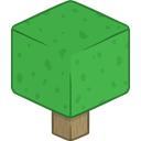 Tree, 3d LimeGreen icon