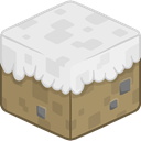 Snow, 3d Lavender icon