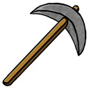 pickaxe, Stone Black icon