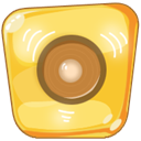 speaker, volume, music Khaki icon