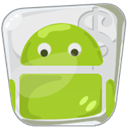 market, place, Android YellowGreen icon
