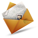 mail, envelope, Email Black icon