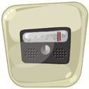 radio, mp3, music LightGray icon